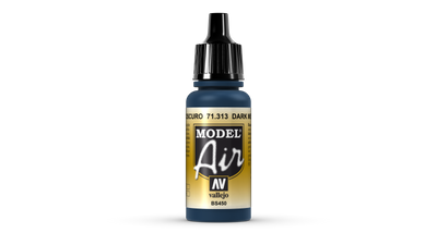 Vallejo | Model Air | 17ml | Dark Mediter. Blue