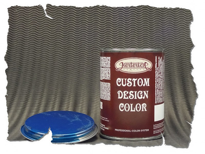 Custom Design Color | Basics | Blue | 1,0ltr. – Bild 3