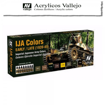 Vallejo | 8er Set | IJA Colors Early/Late (1939-1945)