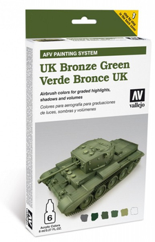 Vallejo | AFV System | Verde Bronze UK