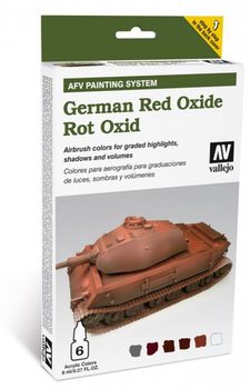 Vallejo | AFV System | German Red Oxide