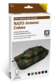 Vallejo | AFV Camouflage | Nato Armour