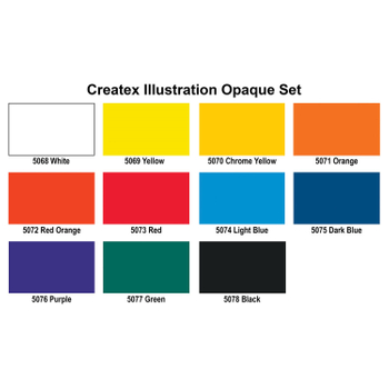 Opaque Set | Createx Illustration Color – Bild 2