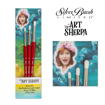 The Art Sherpa | Cloud Brush Set