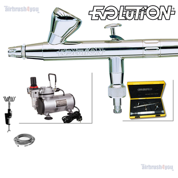 Evolution | Airbrush Starter Set – Bild 2