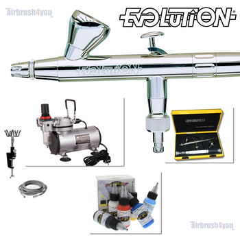 Evolution | Airbrush Starter Set – Bild 5