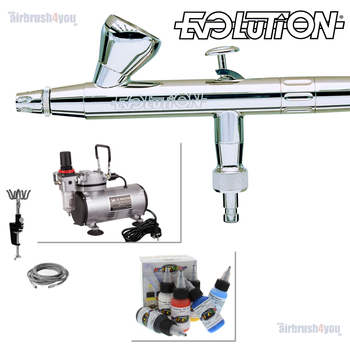 Evolution | Airbrush Starter Set – Bild 3