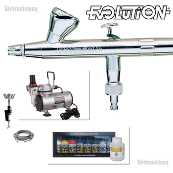 Evolution | Airbrush Starter Set – Bild 7