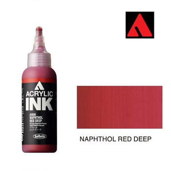Acrylic INK 100ml - Naphthol Red Deep