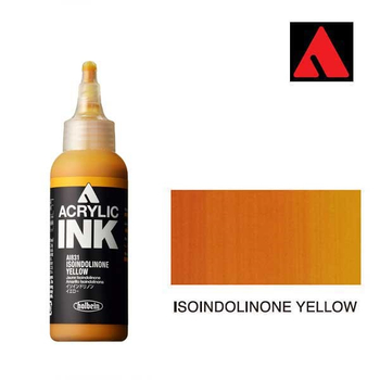 Acrylic INK 100ml - Isoindolinone Yellow
