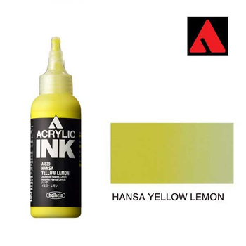 Acrylic INK 100ml - Hansa Yellow Lemon