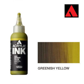 Acrylic INK 100ml - Greenish Yellow
