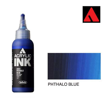 Acrylic INK 100ml - Phthalo Blue