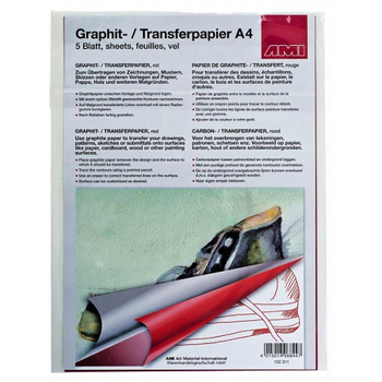 Graphitpapier Color A4 | 5 Blatt – Bild 5