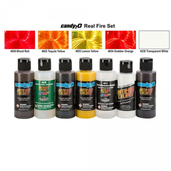 Real Fire Set Set | Candy²O Airbrush-Effect-Color