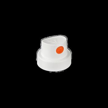 CAP | Silent Fat | weiss/orange – Bild 3