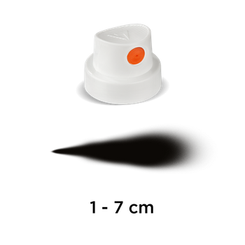 CAP | Silent Fat | white/orange – Bild 1