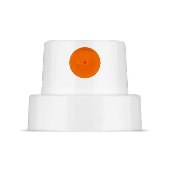 CAP | Silent Fat | weiss/orange – Bild 2