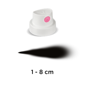 CAP | Super Fat | white/pink – Bild 1