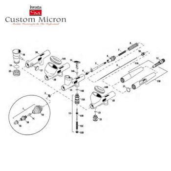 Iwata Custom Micron | CM C2 plus – Bild 3