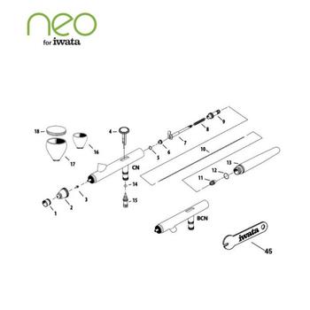 Neo CN | Iwata Airbrush – Bild 3