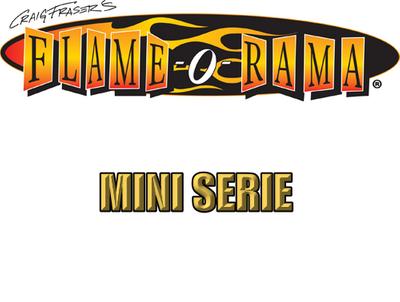 Artool | Mini Schablonen Set |  Flame-o-Rama – Bild 1