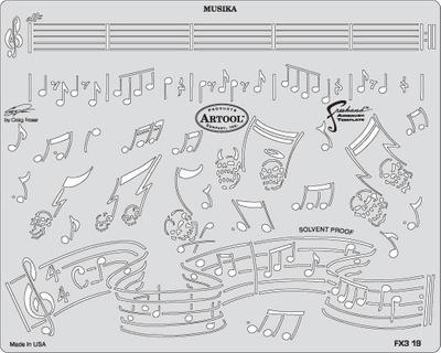 Artool | Mini Schablonen Set | FX3 – Bild 7
