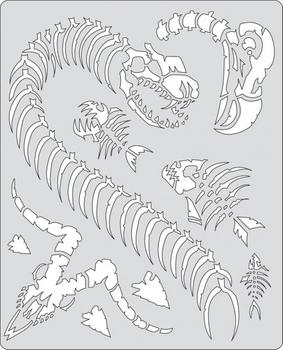Artool | Mini Schablonen Set | Curse of Skullmaster – Bild 6