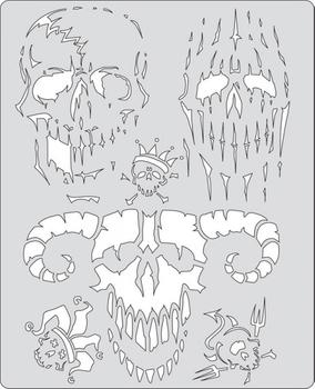 Artool | Mini Schablonen Set | Curse of Skullmaster – Bild 2