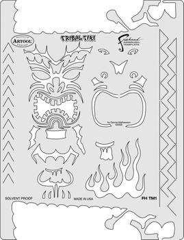 Artool | Mini Schablonen Set |  Tiki Master – Bild 2
