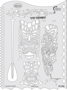 Artool | Mini Stencil Set | Tiki Master – Bild 4