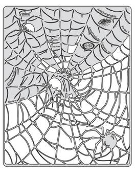 Artool | Mini Schablonen Set | Spider Master – Bild 3