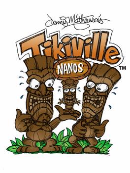Artool | Nano Stencil Set | Tikiville – Bild 1