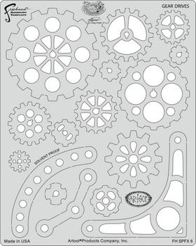 Artool | Mini Stencil Set | Steampunk FX – Bild 6