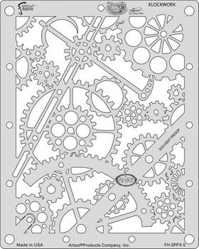 Artool | Mini Stencil Set | Steampunk FX – Bild 5