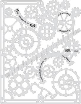 Artool | Mini Schablonen Set | Steampunk FX2 – Bild 2