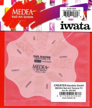 Medea | Nail Master Schablone | Texture FX