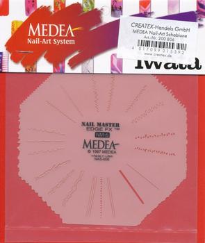 Medea | Nail Master Schablone | Edge FX