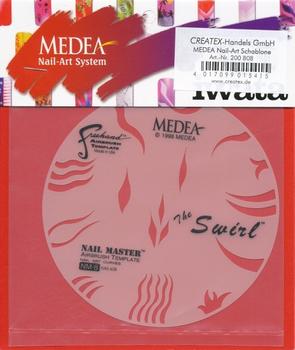 Medea | Nail Master Schablone | Swirl
