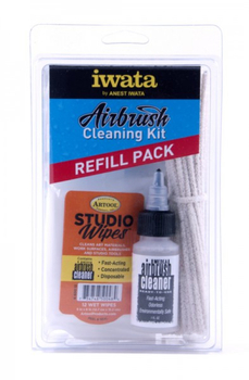 Iwata Airbrush Cleaning Kit Refill
