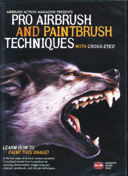 DVD |  Pro Airbrush & Paintbrush Techniques