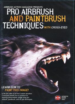 DVD | Pro Airbrush & Paintbrush Techniques | English