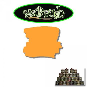 Mr. Brush / Pinstripefarbe / MB 024 Orange Bright – Bild 1