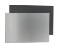 Alu Dibond Panel | brushed metal / anthrazit 001