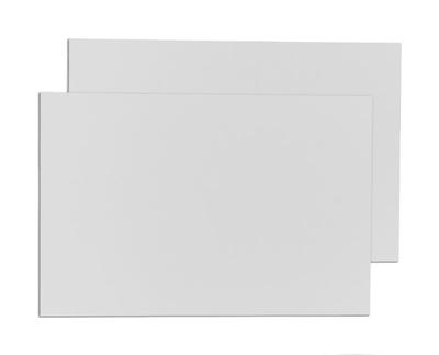 Alu Dibond Platte | weiß