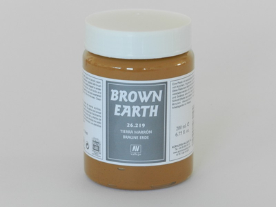 Vallejo Effect | 200ml | Brown_Earth