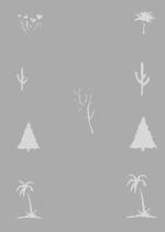 Createx Stencil | Mylar Universal | Bäume