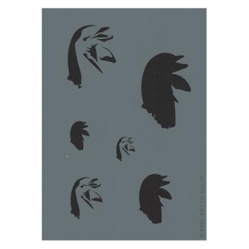 Createx Stencil | Mylar Universal | Dolphin III