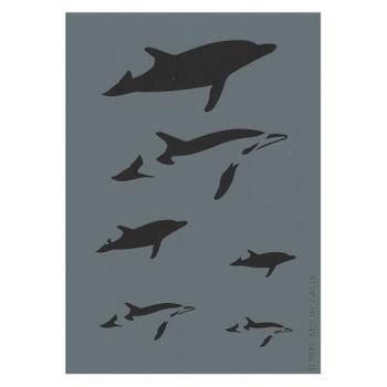 Createx Stencil | Mylar Universal | Dolphin I