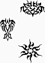 Createx Tattoo Stencil | SET I – Bild 1